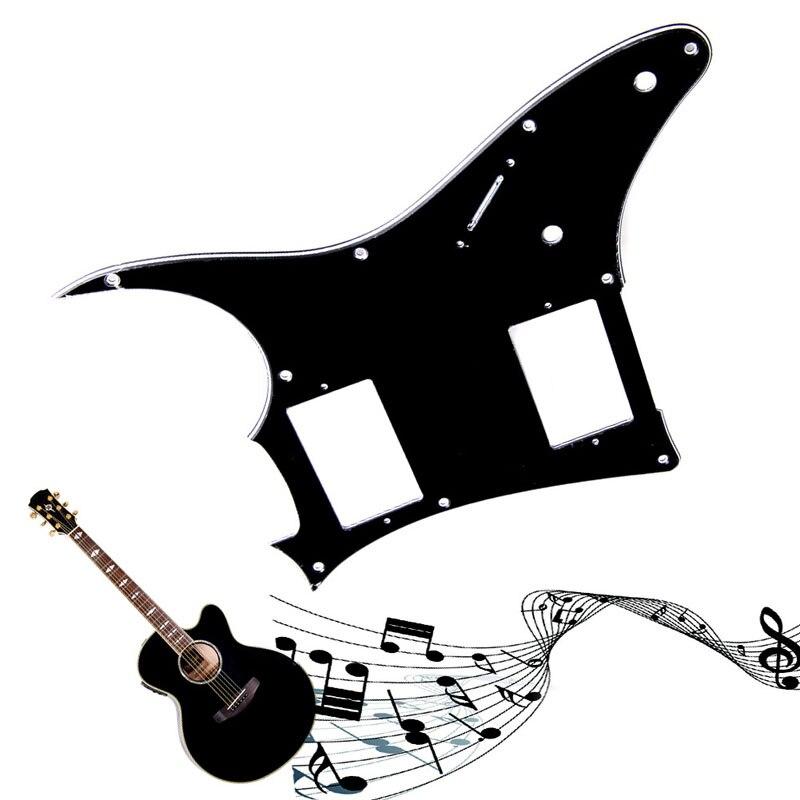 Golpeador de guitarra de 3 capas, placa raspadora para Ibanez GRX20Z, partes de guitarra negra 1 pieza