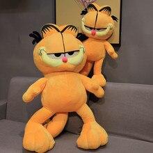 1pc 20cm vente chaude dessin animé jouet en peluche Garfield chat en peluche peluche jouet de haute qualité doux en peluche Figure poupée pour enfants cadeaux