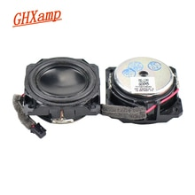 GHXAMP 1.5 pouces 4 OHM 5W gamme complète Mini haut-parleur anodisé néodyme Bluetooth haut-parleurs voix humaine chaud naturel bricolage 1 paires