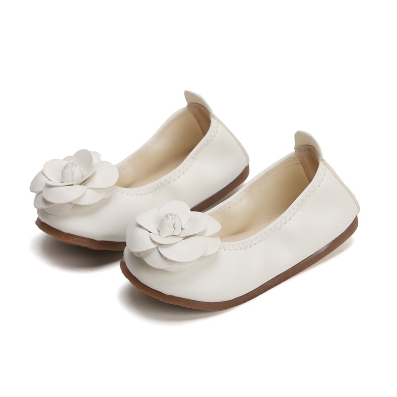 Children Shoes 2019 New Girls Sandals Kids Leather Flower Leisure Sneakers Hot Princess Dance