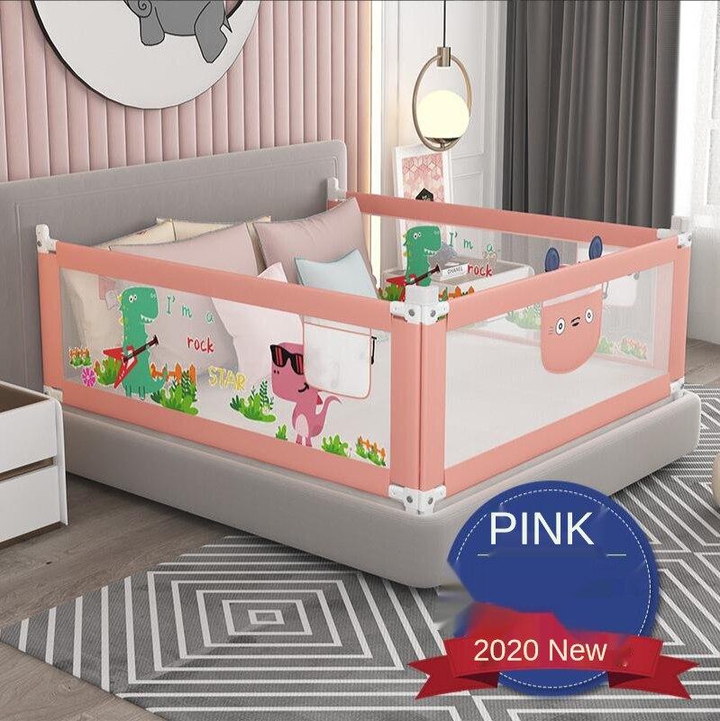سرير بيبي السكك الحديدية السرير 1.2-2.2 متر حاجز رعاية الطفل للأسرة سرير القضبان الأمن المبارزة الأطفال درابزين الاطفال روضة