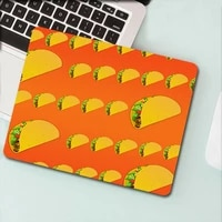 computer mouse pad gamer deskpad sushi pizza keyboard mat gamer accessories anime mousepad pc gaming pad minimalism table small