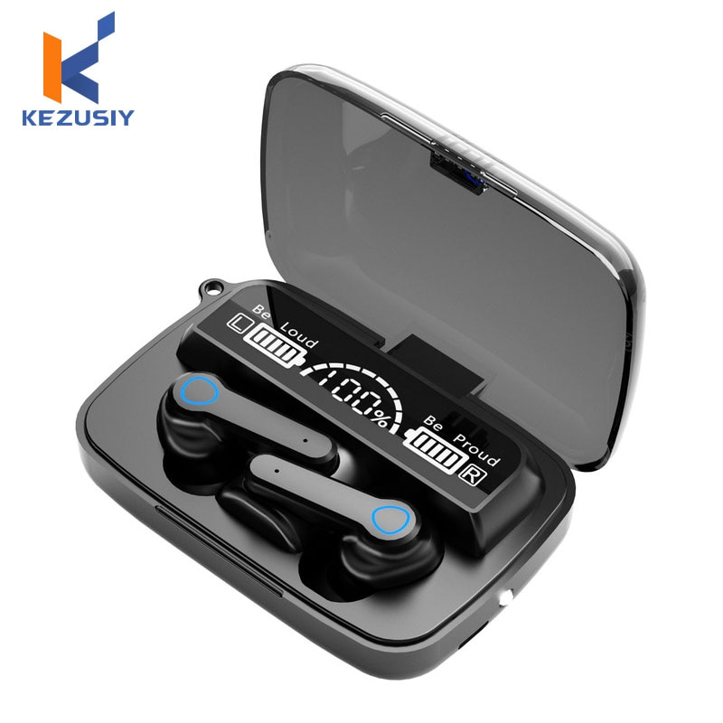TWS Bluetooth V5.1 Earphones Noise Cancelling Wireless Headphones Waterproof Touch Control Earbuds w