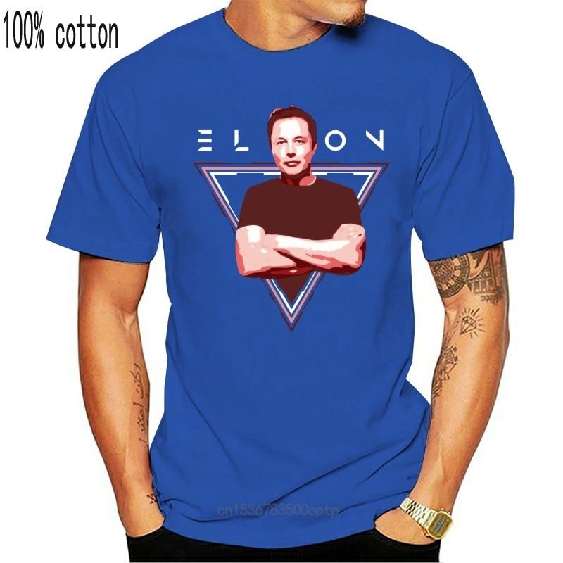 New Men t-shirt Elon Musk Space x Nerdy Shirt tshirt Women t shirt