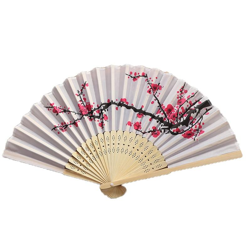 Abanico plegable clásico Para mujer, 4 Uds., ventilador plegable estilo chino, abanico...