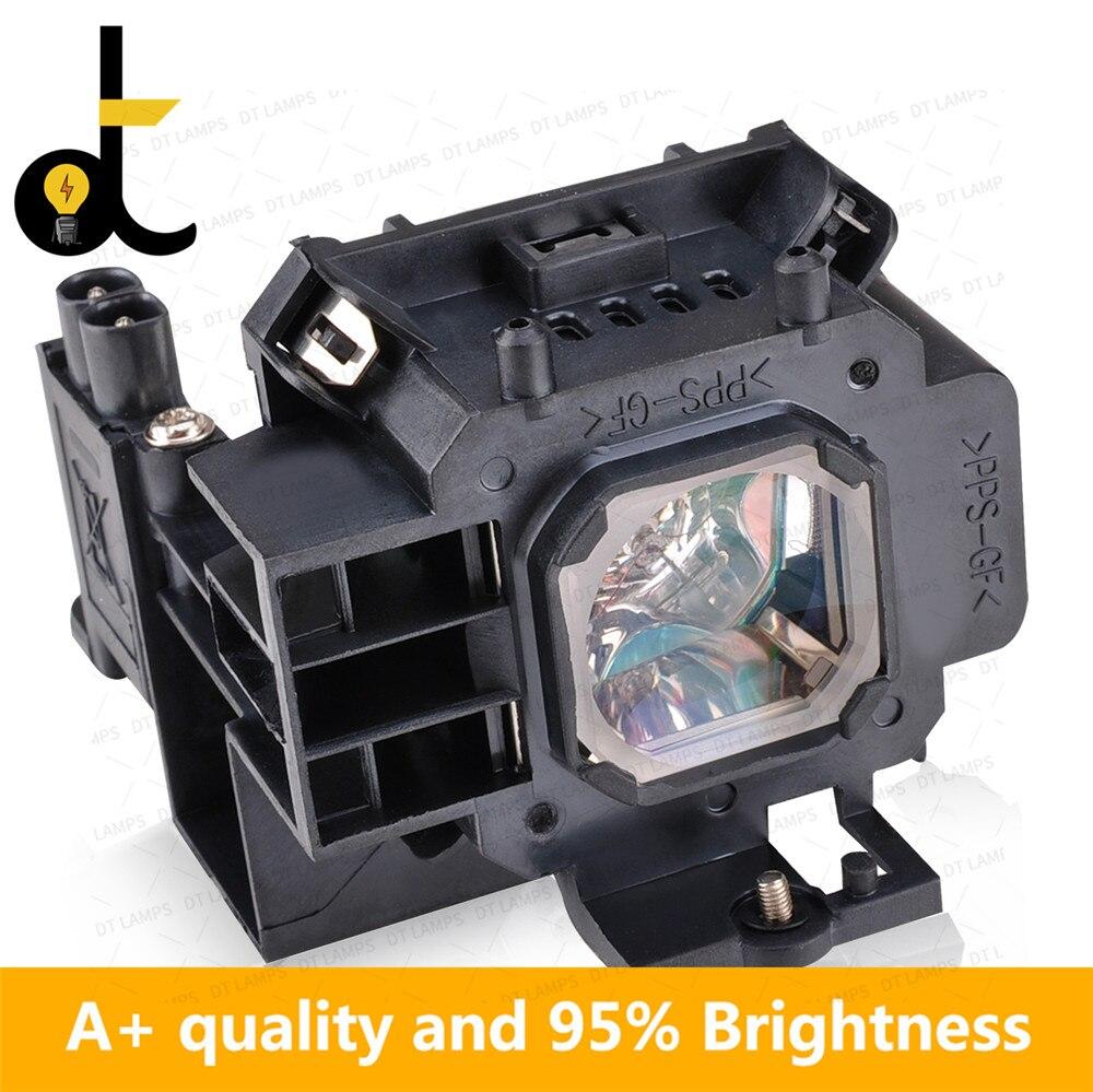 + Mecha para NEC NP15LP M260X M260W M300X M300XG M311X M260XS M230X M271W M271X M311X lámpara para proyector con carcasa