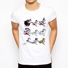 Dropshipping Dragon Ball T-Shirt Fashion Majin/Vegeta/Freeza/Cell Evolutions Print T-shirt Brand Cartoon Shirt Comfortable Tops