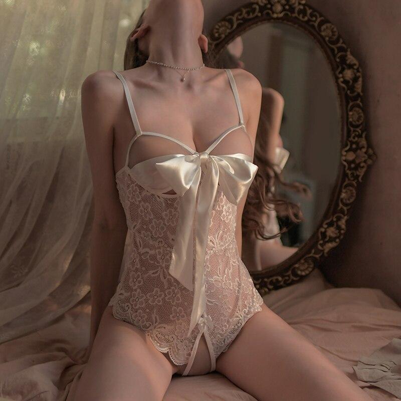 Lencería Sexy para mujer, ropa de juegos de rol, traje de Pornos exóticos, camisón transparente, disfraz de sadomasoquismo, tienda erótica
