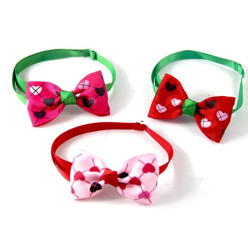 20pcs Dog Bow Ties Pet Dog Bowties Dog Wedding Bow Tie Neckties Cat Pet Holiday Grooming Pet Supplie