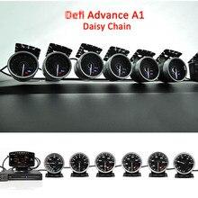 Defi Voraus A1 Defi Link System Daisy Kette Auto Gauge ZD + 6 messgeräte Volt Wasser Temp Öl Temp Öl presse Tachometer RPM Turbo