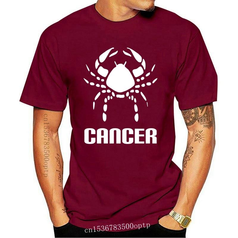 New Horoscope Cancer Funny Tee T-Shirt Top Tumblr Novelty Xmas Gift Secret Santa Sportswear Tee Shirt