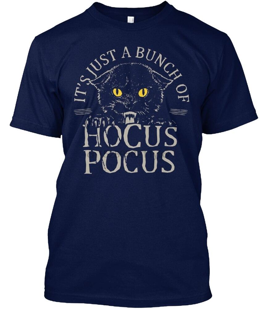 Hombres camiseta Hocus pocus pulgar Thsirt camisetas mujeres camiseta
