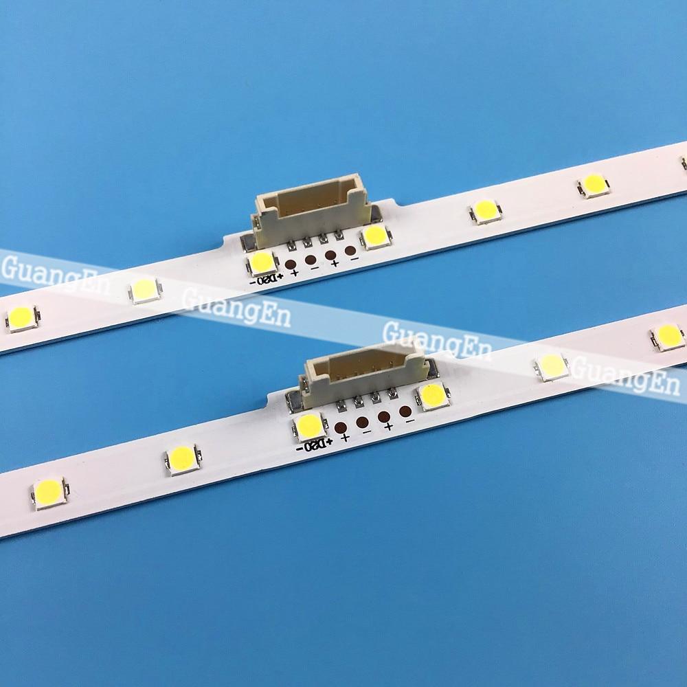 10 قطعة LED الخلفية قطاع لسامسونج 50 ''التلفزيون UE50NU7100 UE50NU7020 50NU7400 BN96-45952A 45962A UN50NU7100 LM41-00564a 46034A