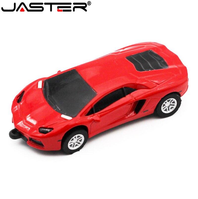 JASTER Новый мини спортивный автомобиль Форма pendrive 32 Гб 16 Гб 64 Гб крутая ручка usb ручка привод renault usb флэш-накопитель игрушка подарок бесплатная доставка