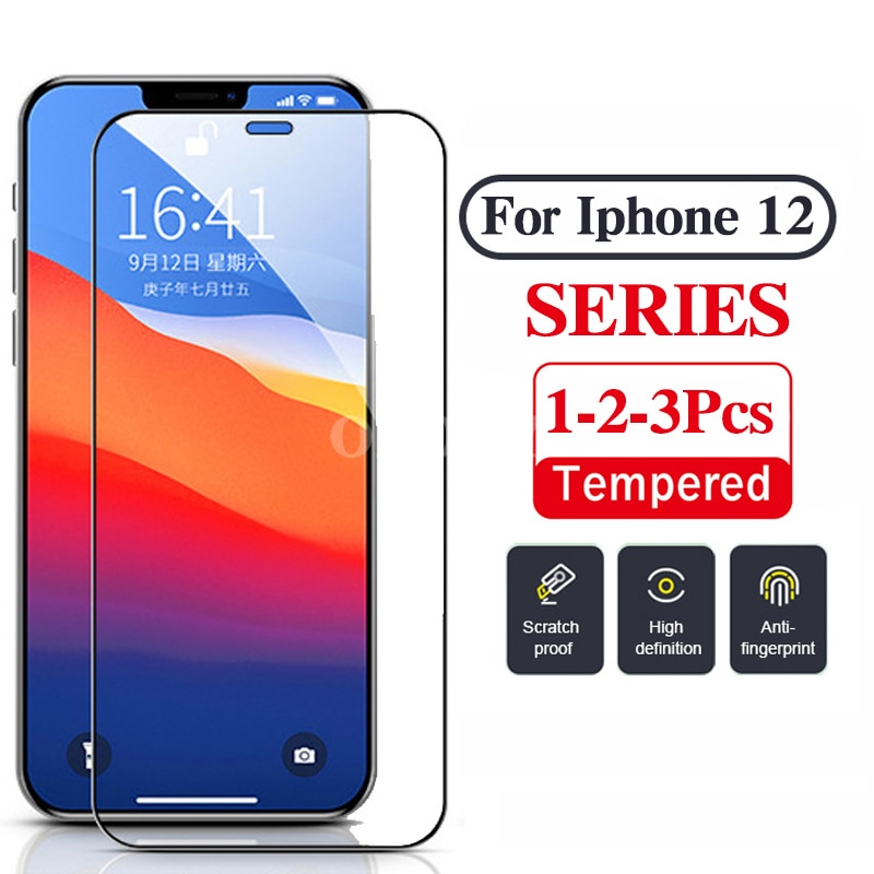 protective glass for iphone 12 pro max accessories Screen Protector iphone12 pro 12pro max 12 mini f