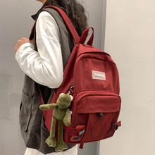 DCIMOR New Waterproof nylon Women Backpack Female net School bag for Teenage Girls Travel Backpack High quality Book Mochila