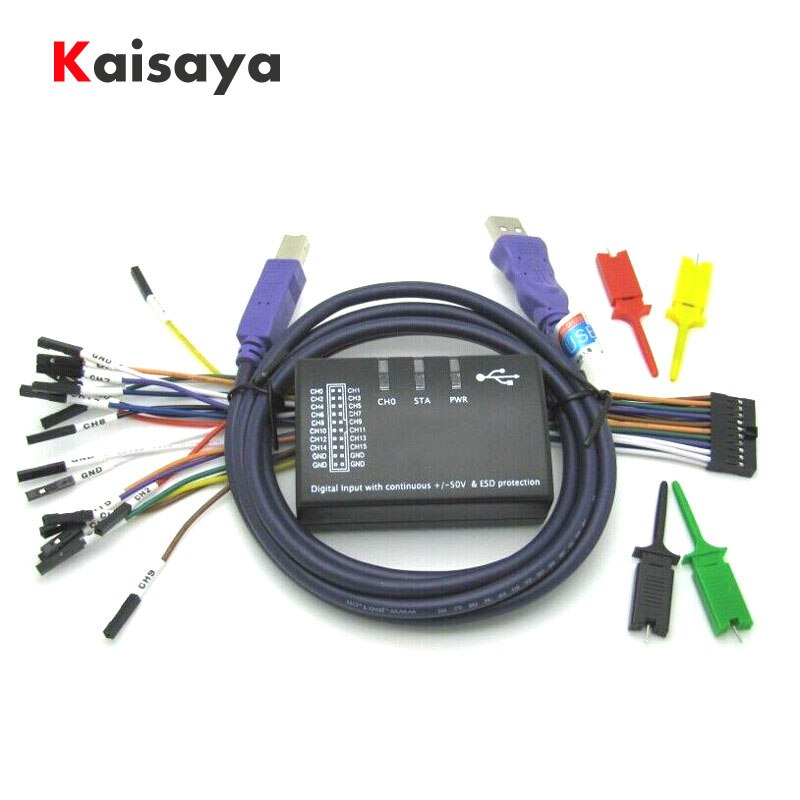 USB Logic Logic 100MHz 16Ch محلل منطقي لـ ARM FPGA