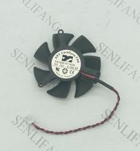 Livraison gratuite pour ARX FS1250-A1142A FS1250A1342A DC 12V 0.15A serveur 2 fils ventilateur rond