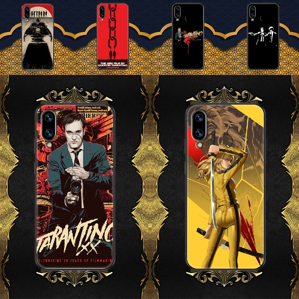 written-directed-quentin-tarantino-phone-case-for-huawei-honor-6-7-8-9-10-10i-20-a-c-x-lite-pro-play-black-pretty-waterproof