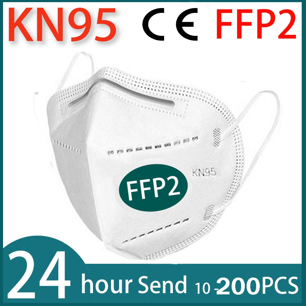 Reusable FFP2 KN95 Face Masks 5 Layers Filter Dust Mouth PM2.5 Mask Personal Protective Health Care