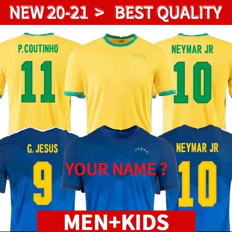 Camiseta de fútbol de brasil para hombres y niños, conjunto de uniformes,...