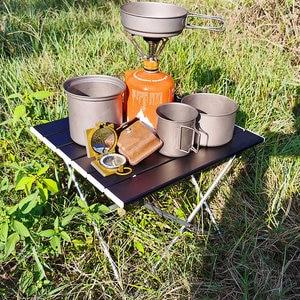 Outdoor Portable Folding Camping Table, Aluminum Alloy Folding Table, Aluminum Table, Suitable for Outdoor, Camping, Picnic