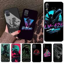 CUTEWANAN Movie Alien Xenomorph insect Phone Case Cover For Samsung A10 A20 A30 A40 A50 A70 A80 A71 A91 A51 A6 A8 2018