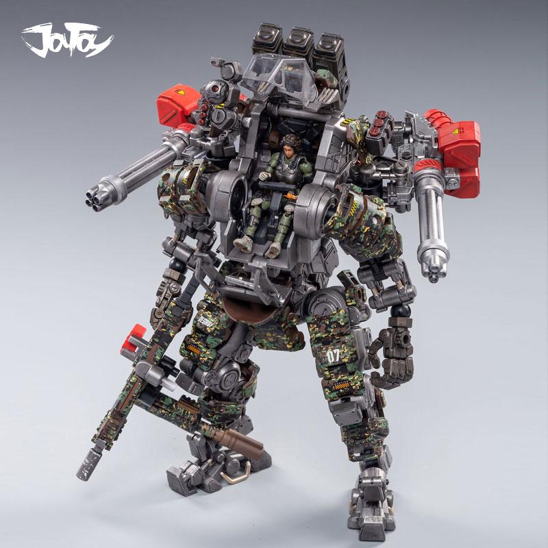 Nuevo robot de figura de acción JOYTOY 1/25 hueso de acero militar H07 Cámara armadura juguetes de modelos de colección presente