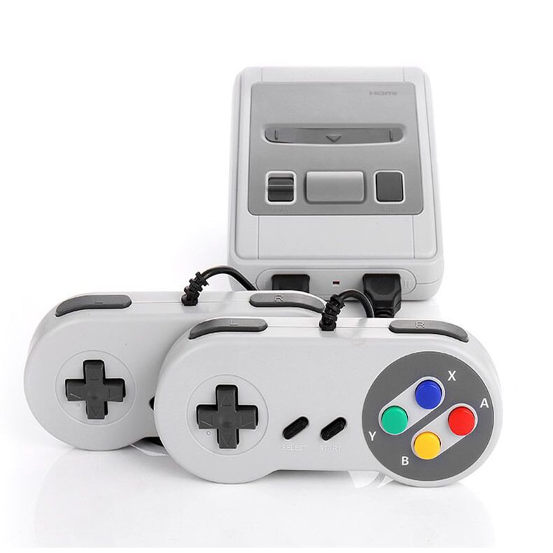 Retro TV Game Console with 620 Classic Games 8bit AV Output Video Mini Handheld Video Console Dual Gamepad Family Gaming Player