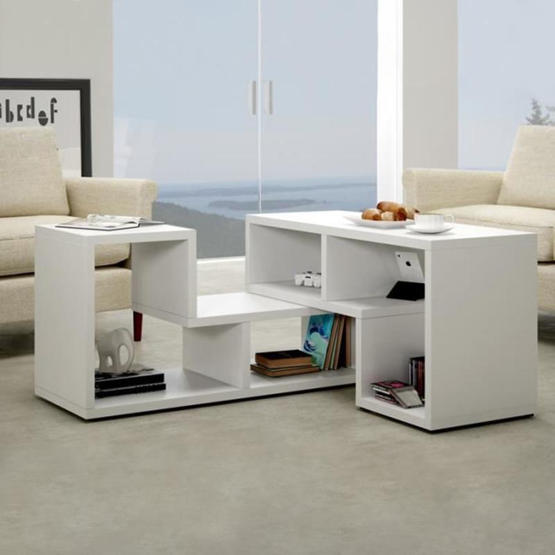 متعددة الوظائف أربعة مقصورات خزانة التلفزيون خزانة طاولة القهوة يمكن أن تمتد عرض حامل تلفاز أثاث غرفة المعيشة