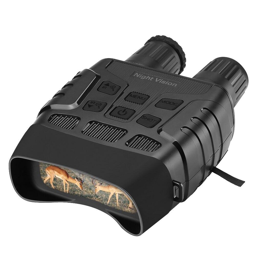 Gece görüş cihazı dürbün 300 metre dijital IR teleskop Zoom optik 2.3 'ekran fotoğrafları Video kayıt avcılık kamera