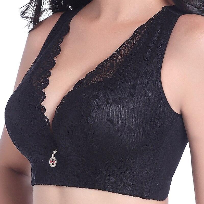 حمالة صدر دانتيل مقاس كبير للنساء ، ملابس داخلية ، كوب C و D ، ملابس داخلية ، مقاس كبير ، 105 ، 110