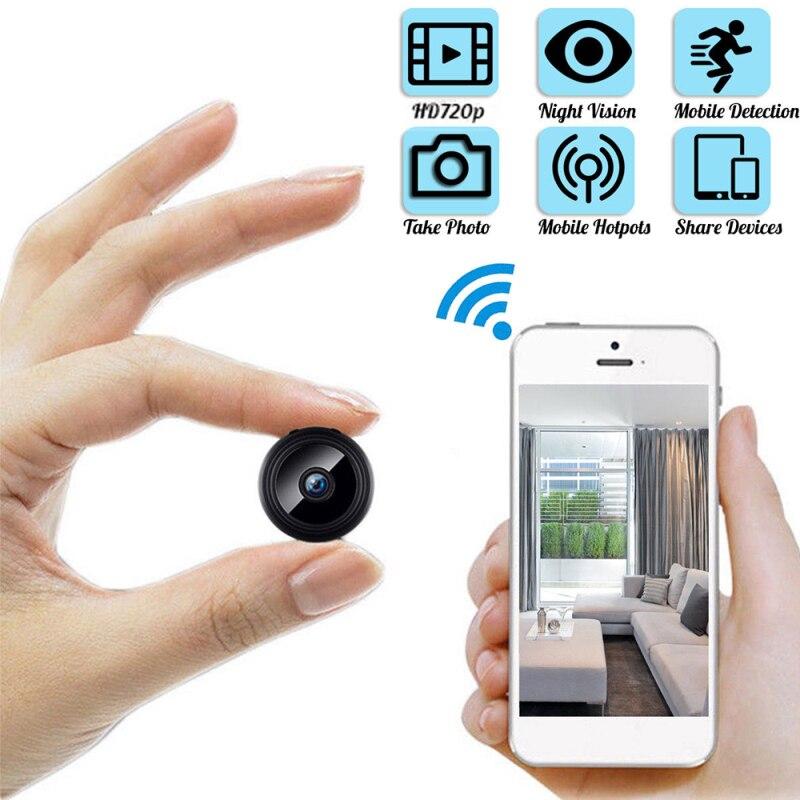 A9 Mini Camera Original 720P IP Camera Smart Home Security IR Night Magnetic Wireless Mini Camcorder