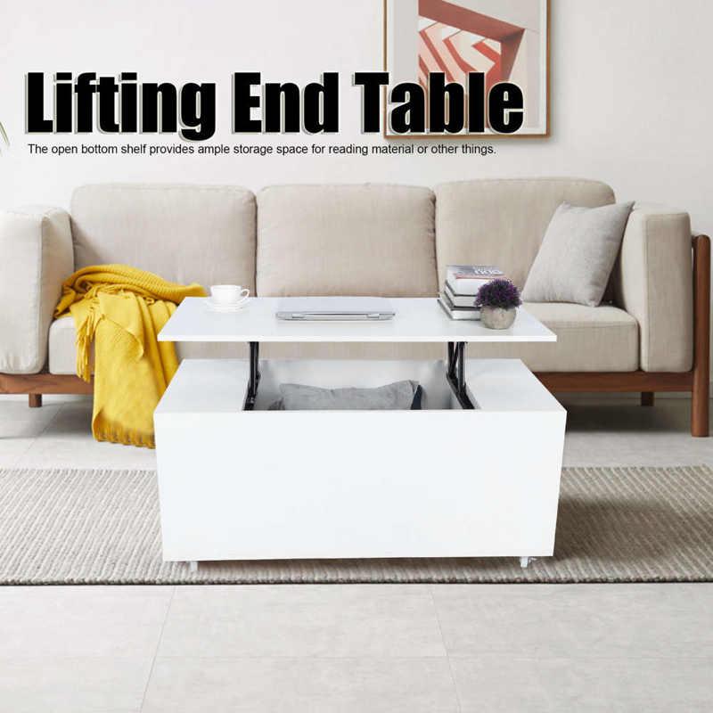 رفع طاولة القهوة نهاية الجدول مع مخزن للأدوات الرف لأثاث غرفة المعيشة المنزلي