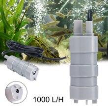 Haute qualité vendable à chaud 12V 1.2A 5M 600L/H 6-12V pour Aquarium trois fils Micro Submersible moteur pompe à eau