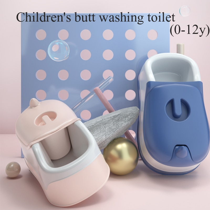 0-12Y Multifunctional Baby Portable Toilet Potty Training Seat 3 In 1 Baby Wash PP Basin Newborn Bath Tub For Kids and Adult