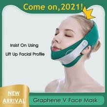 Full Cover V Face Strap Lift Belt Facial Shape Line Chin Cheek Lifting Bandage Graphene V Face Skin
