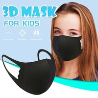 Child Black Mask Breathable Thin Fashion Thin Type Girl Children Mouth Cover Accessories Winter Windproof Wholesale 2020