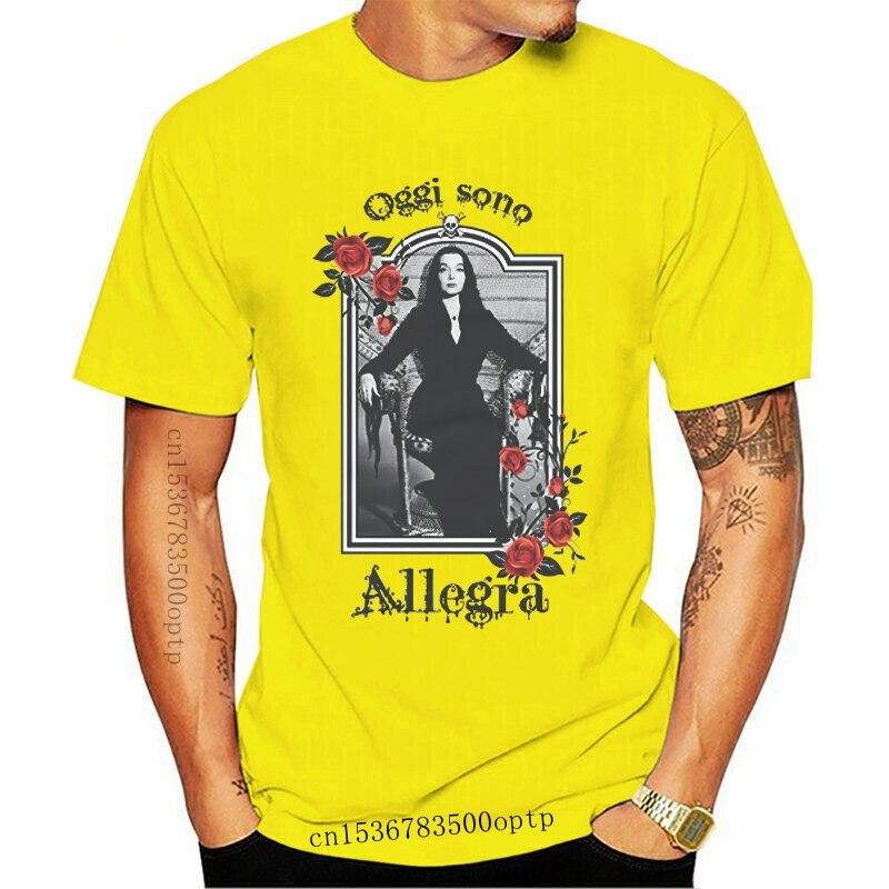 Camiseta DONNA MORTICIA ADDAMS OGGI SONO ALLEGRA GEN0541