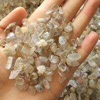 100g natural crystal quartz citrine gravel rock raw gemstone mineral specimen healing stone fish tank decoration