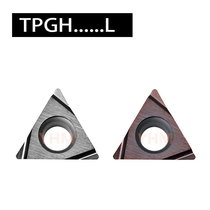TPGH 080202L TPGH080204L TPGH090202L KW10 PR930 PV720 TN60 TN6020 وليجات تحويل باستخدام الحاسب الآلي 10 قطعة مخرطة قطع أداة آلة كفاءة