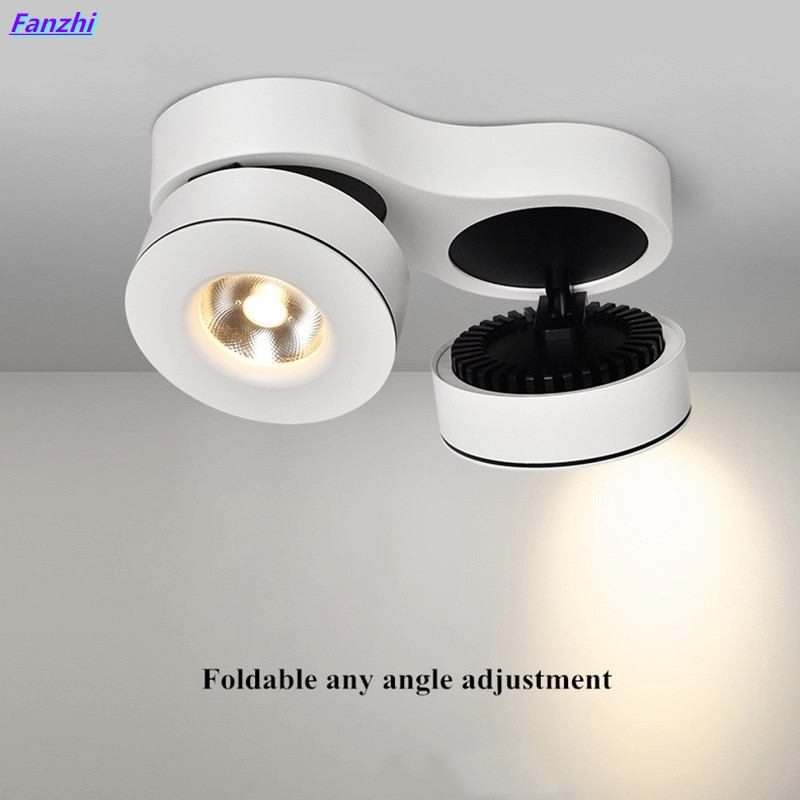 Lámpara de punto para techo de luz LED descendente montada en superficie...