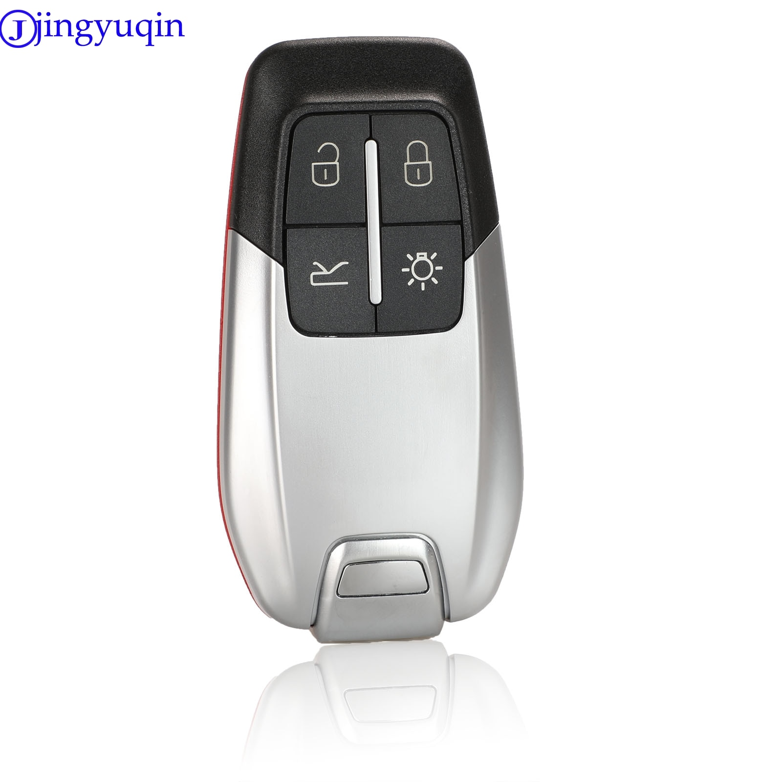Jingyuqin Смарт роскошный пульт дистанционного ключа оболочки 4 кнопки для Ferrari 458 588 488GTB чехол Fob крышка