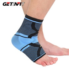 Getinfit 1PCS Sports Ankle Support Ankle Pad Elastic Brace Guard Foot Basketball Football Badminton