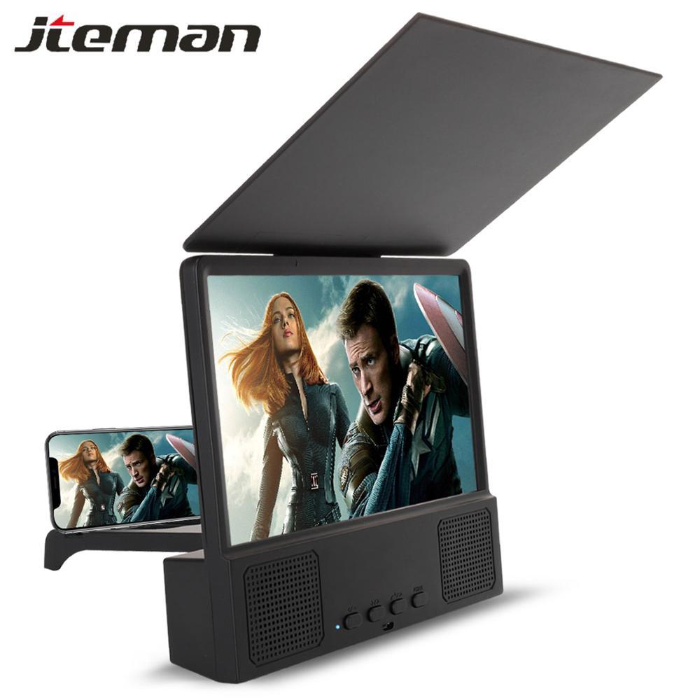 Amplificador de vídeo para pantalla de teléfono 3D de 8,5 pulgadas, Amplificador portátil para móvil