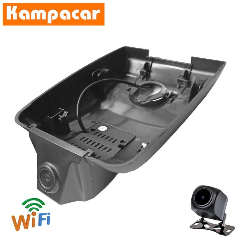 Kampacar Dashcam TYT01-D para Toyota Camry V70 TRD 70 3,5 V6 XV70 XLE SE híbrido ASV-70 2018 a 2020 Y 2 Wifi coche Dvr Dash Camera