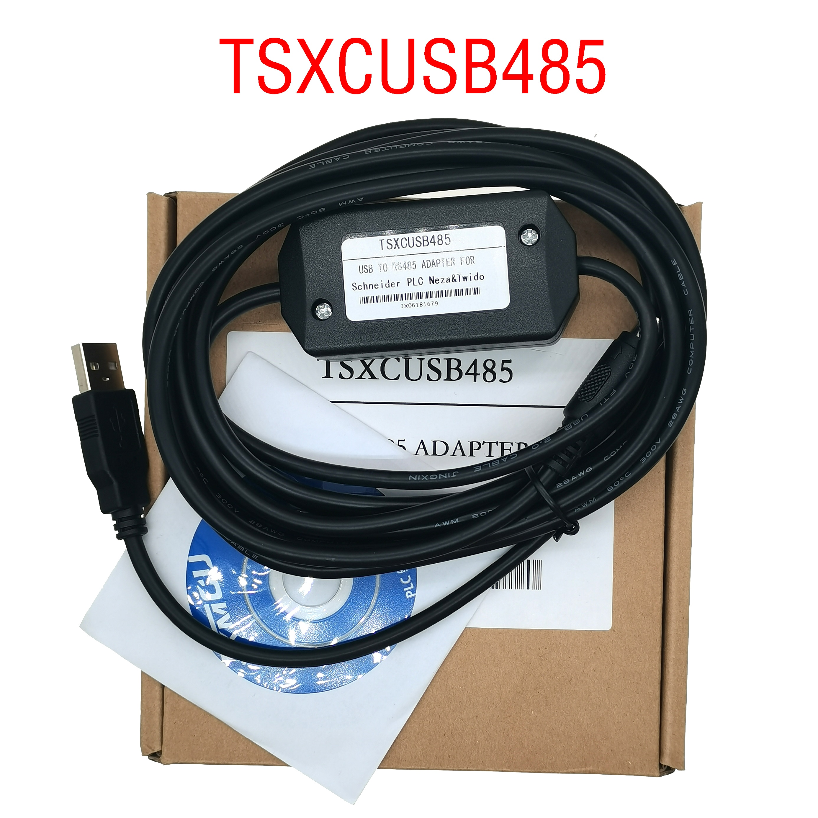 TSXCUSB485 + tsxcrjmd25 Repalce Tsxpcx3030 Usb/rs485 Adaptador Multifuncional Plc Para Premium Micro...