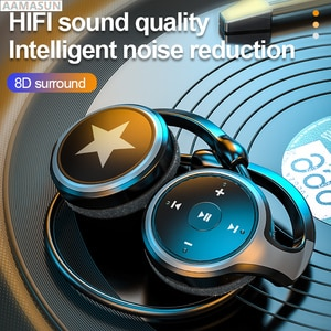 New Sport Bluetooth Headphone FM High Quality Wireless Headset TF Card Bass Stereo Earphones for Cell Phone Xiaomi Huawei
