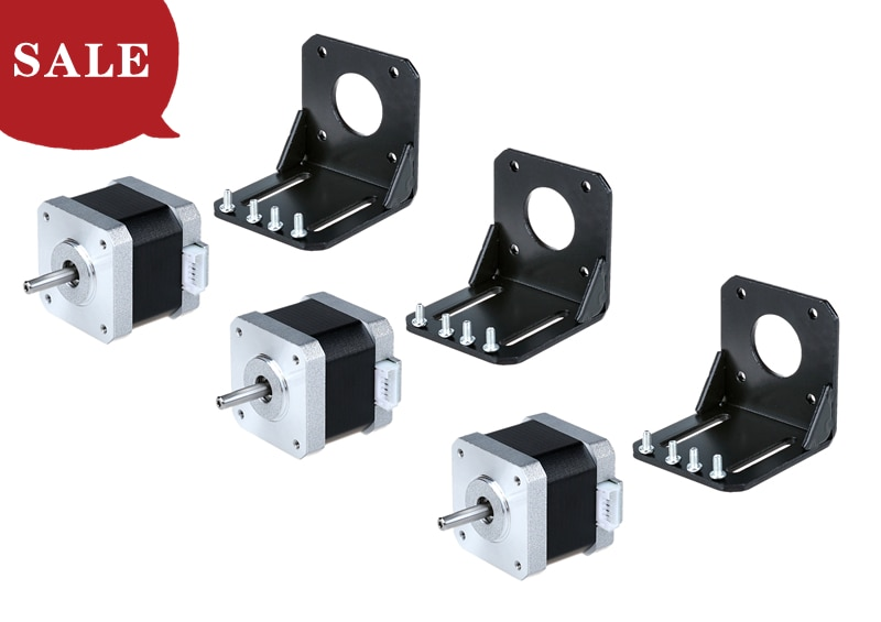 Envío gratis a EE. UU.! acto 3 uds Nema 17 CNC Motor paso a paso 40Ncm L40mm 1.7A 2,55 V 42BYGH Motor 3 Dprinter/CNC DIY