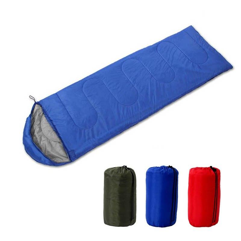 Waterproof Sleeping Bag Cover Cotton 3 Season Outdoor Camping Hiking Traveling Envelope Sleeping Bags Adult Lightweight Warm